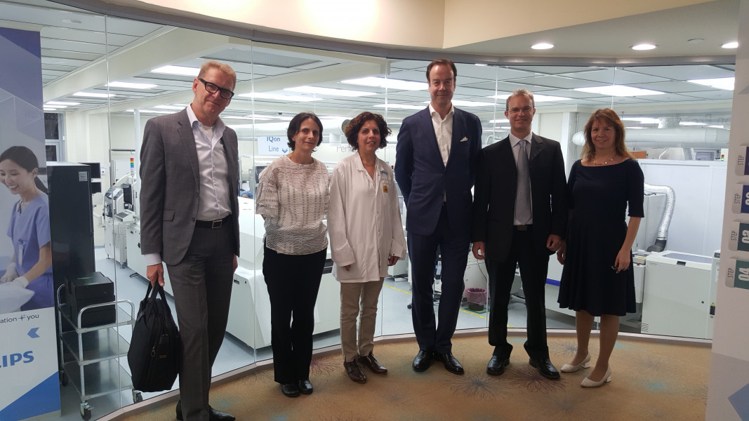 LSH: Visit at Philips Israel which develops diagnostic imaging and healthcare informatics solutions