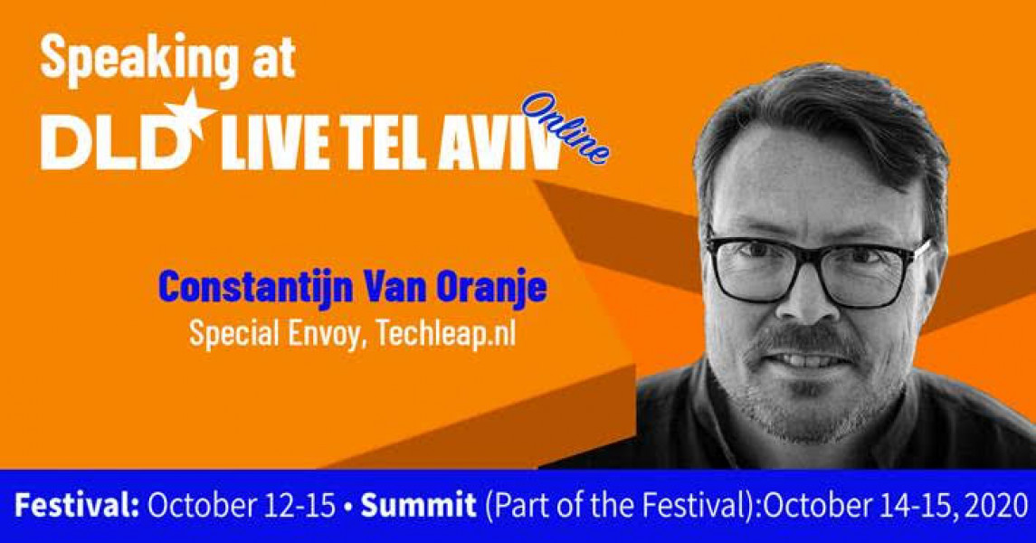 Prins Constantijn, special envoy TechLeap.NL on Startups and the COVID19 response