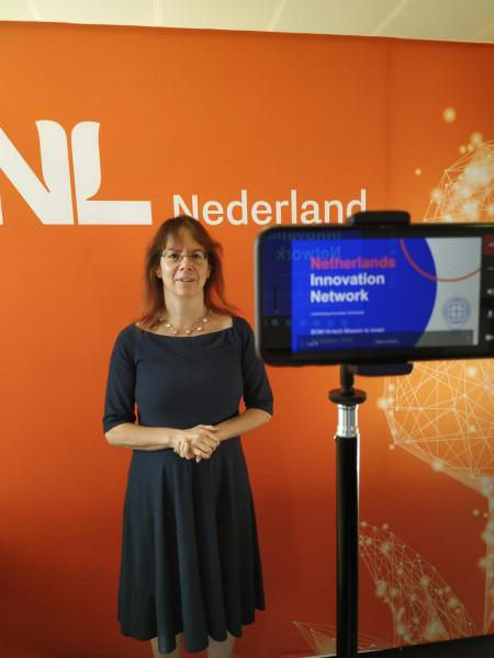 Presentation of Netherlands Innovation Network at virtual BOM hi-tech delegation to Israel
