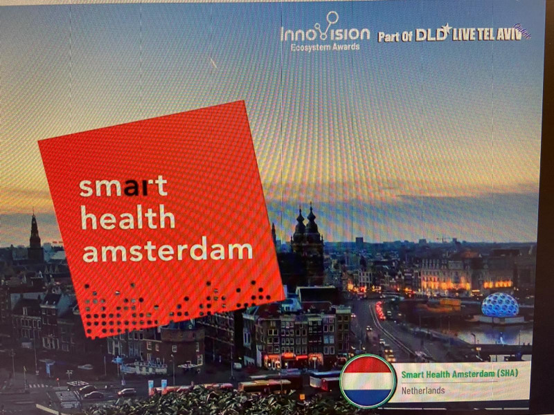 Smart Health Amsterdam (SHA) is one of the 10 final nominees at Innovision 2020