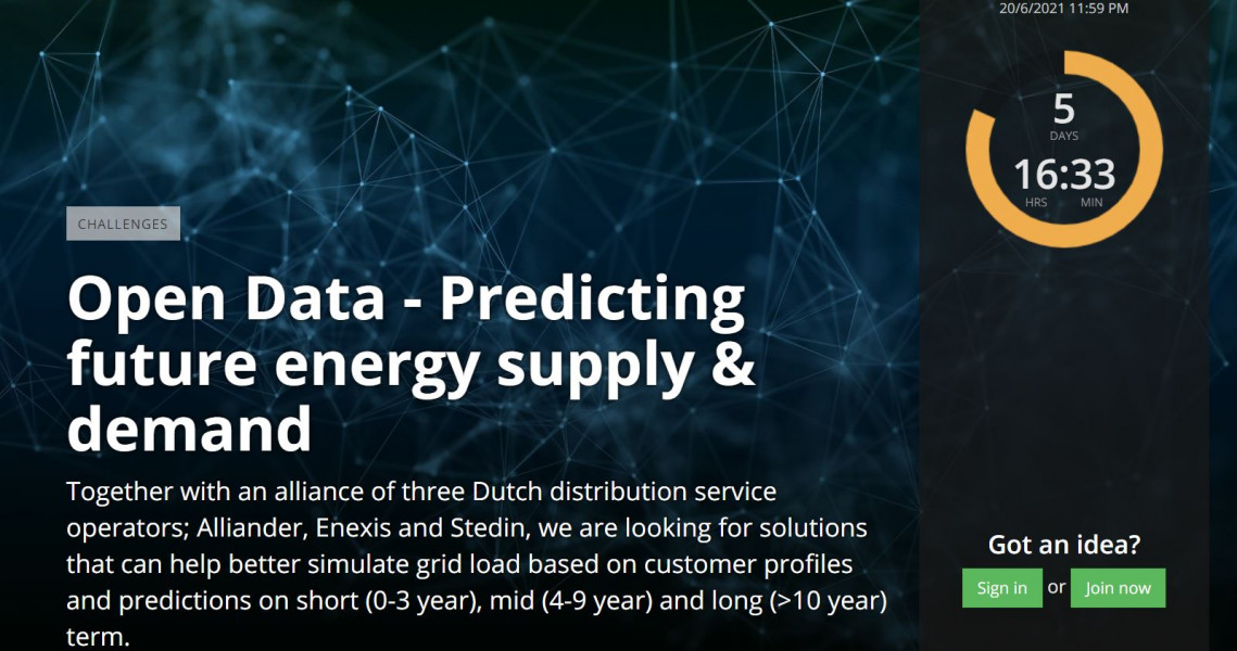 Dutch DSO alliance is looking for Israeli technology to simulate short-, medium- and long-term grid load based on customer profiles and predictions