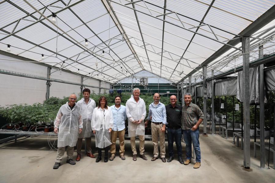 VIP visit of the Netherlands ambassador to Israel to RCK Ltd., an Israeli cannabis company