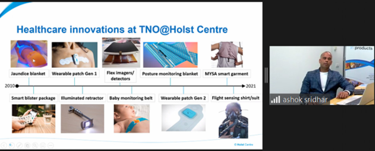 TNO@HOLST Centre and Israeli mini symposium on healthcare solutions for homecare